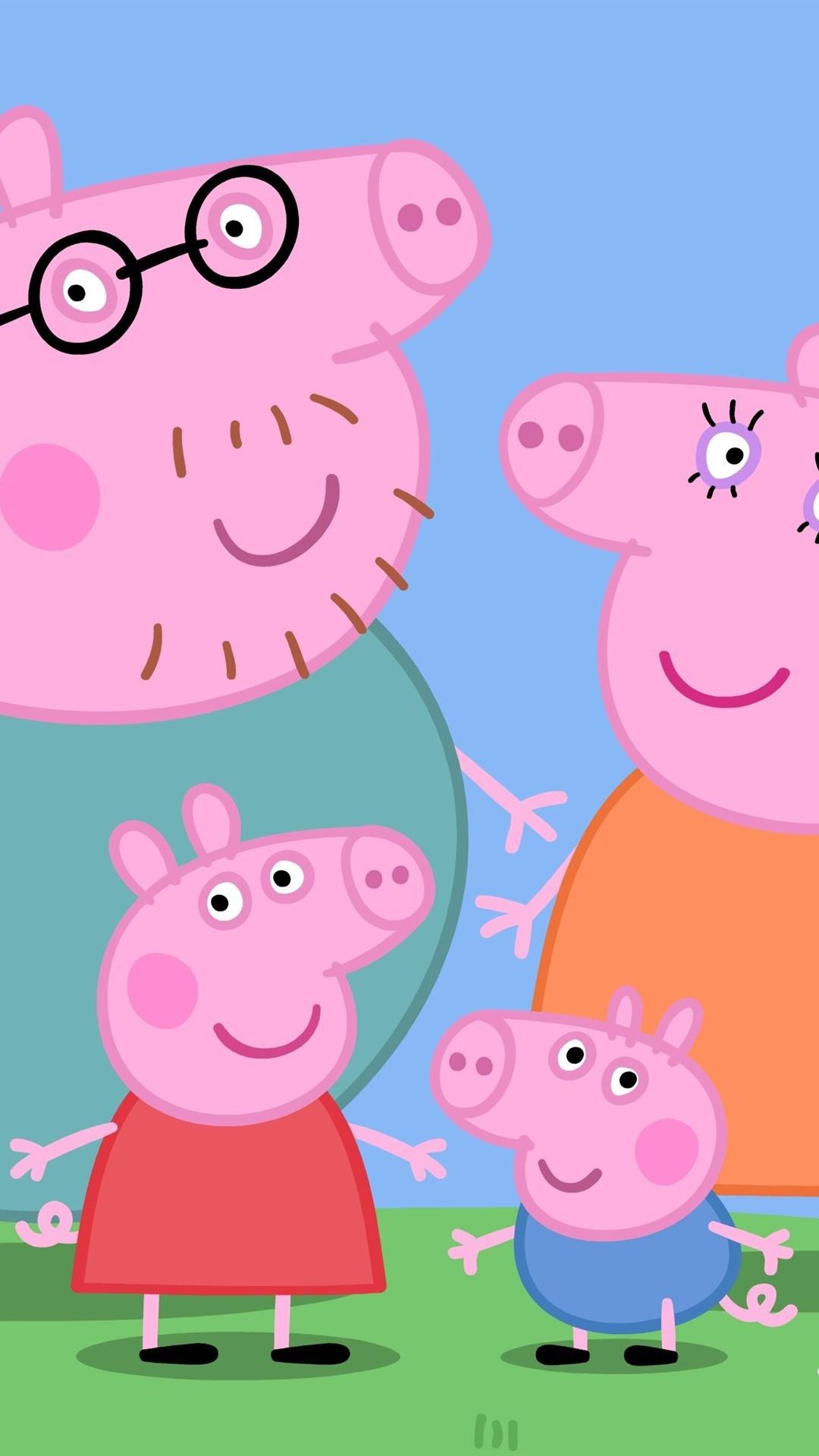 Hd Peppa Pig House Wallpaper Enwallpaper