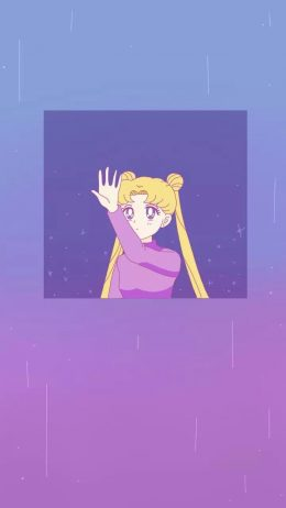 HD Sailor Moon Aesthetic Wallpaper