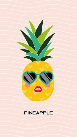 Background Pineapple Wallpaper