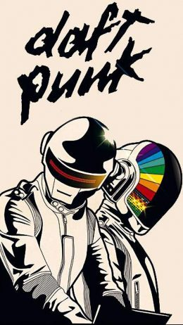 Background Daft Punk Wallpaper