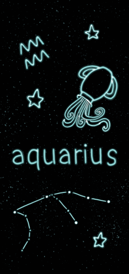 HD Aquarius Wallpaper