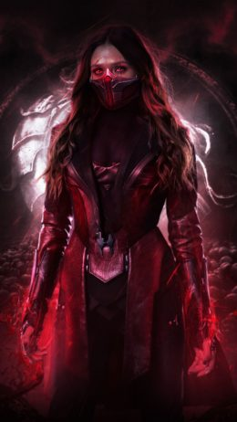 Background Scarlet Witch Wallpaper