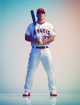 Background Mike Trout Wallpaper