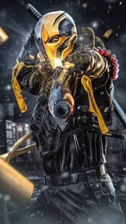Background Deathstroke Wallpaper