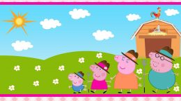 Desktop Peppa Pig House Wallpaper