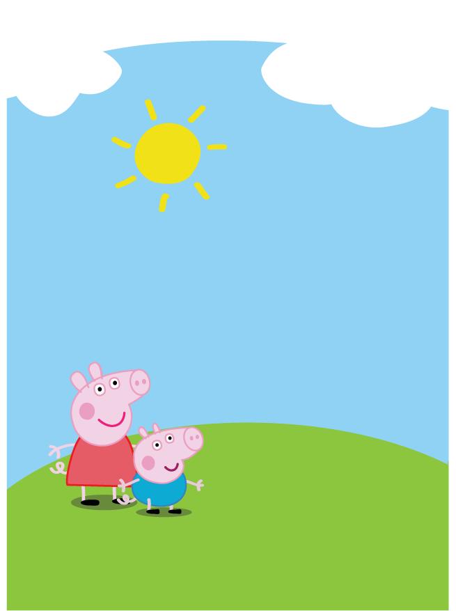 Backgraund Peppa Pig House Wallpaper - EnWallpaper