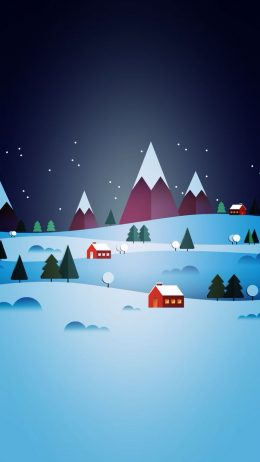Minimalist Christmas Wallpaper