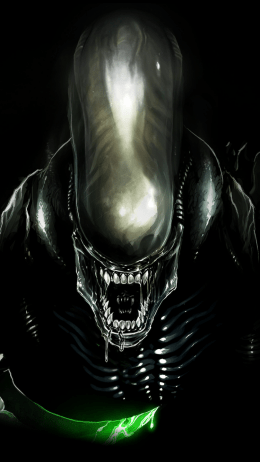 HD Alien Wallpaper