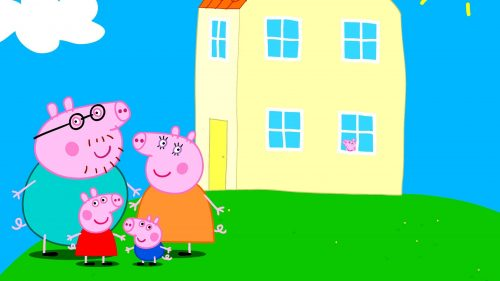 Desktop Peppa Pig House Wallpaper - EnWallpaper
