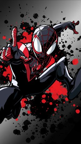 Backgraund Miles Morales Wallpaper
