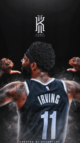 Backgraund Kyrie Irving Wallpaper