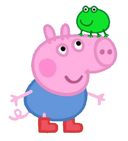 Backgraund Peppa Pig House Wallpaper