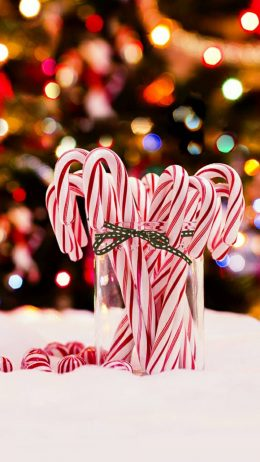 Candy Cane Wallpaper
