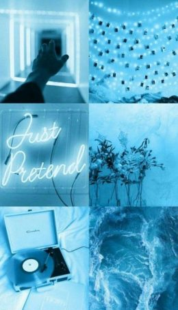 Light Blue Aesthetic Wallpaper