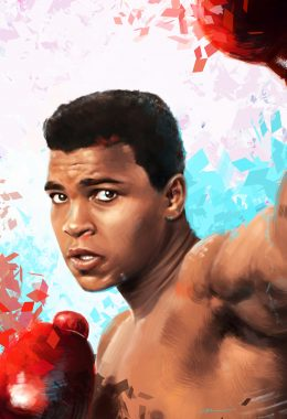 Background Muhammad Ali Wallpaper